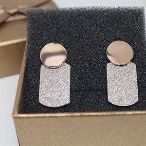 Anti-allergy fashion earrings